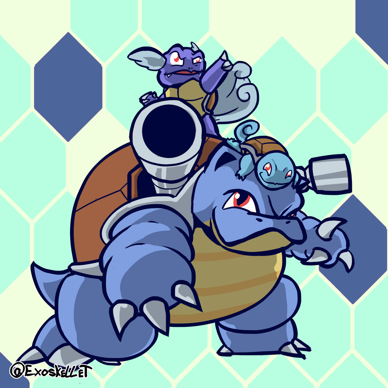 Daily Pokemon : Squirtle Line