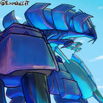 Daily Pokemon : Golisopod line by Exoskellet