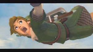 Link's epic 'OMG I'M GONNA DIE' face by AspiringEmperor