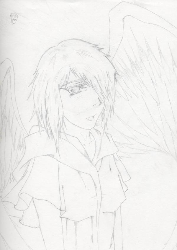 angel by shroomstone