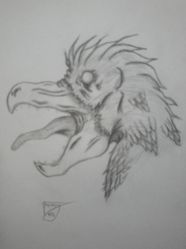 mutant bird by shroomstone