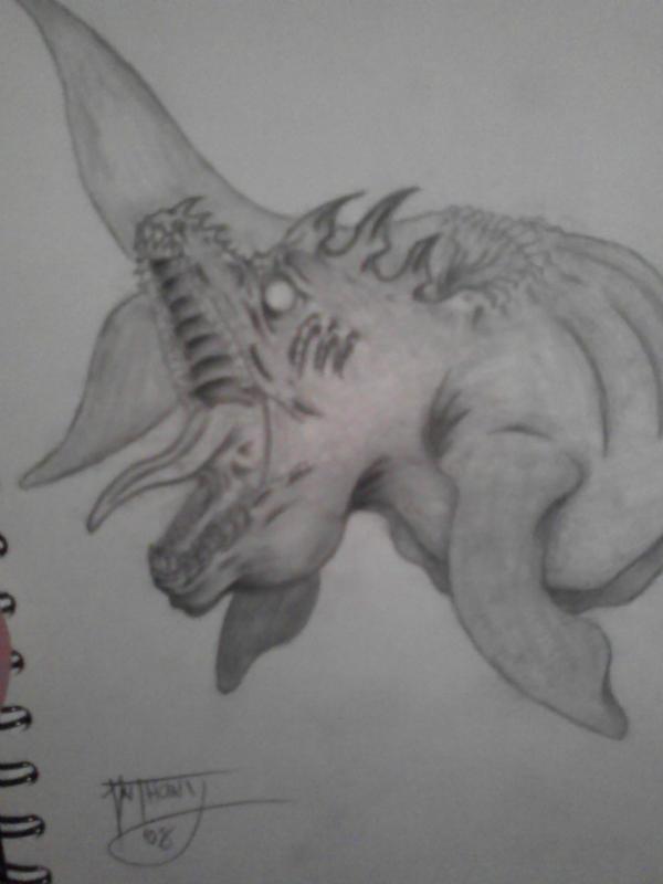 Underwater Fury by shroomstone