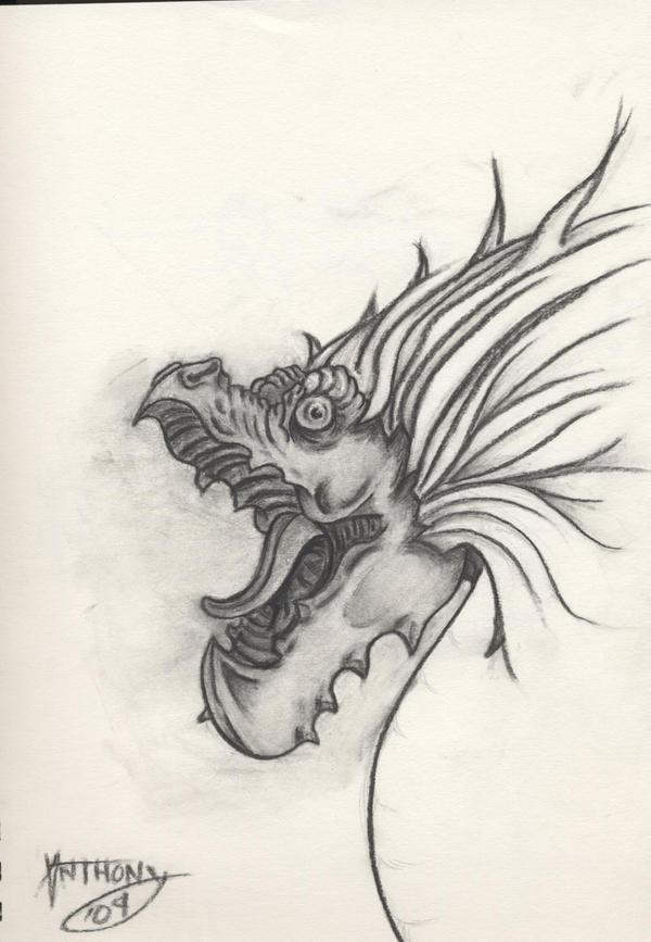 bird creature by shroomstone