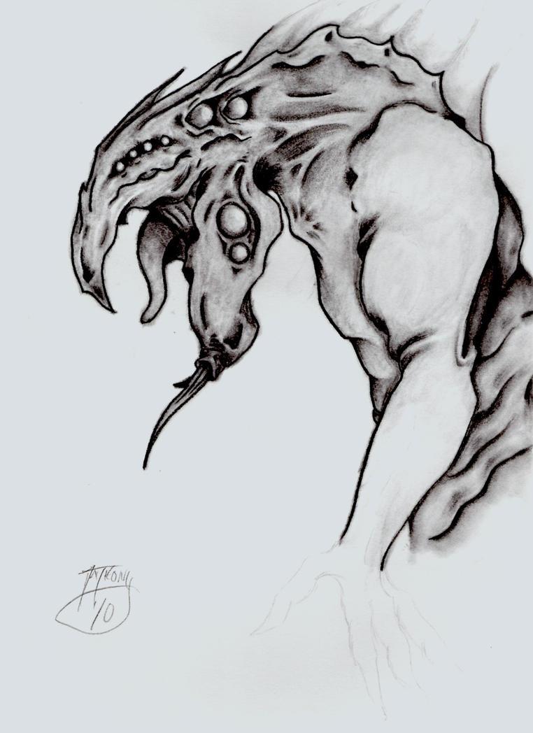 Creature Design by shroomstone