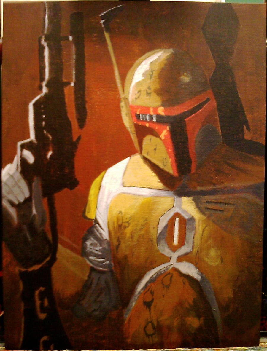 Boba Fett by shroomstone