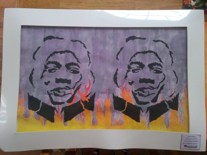 Jimi Hendrix by shroomstone