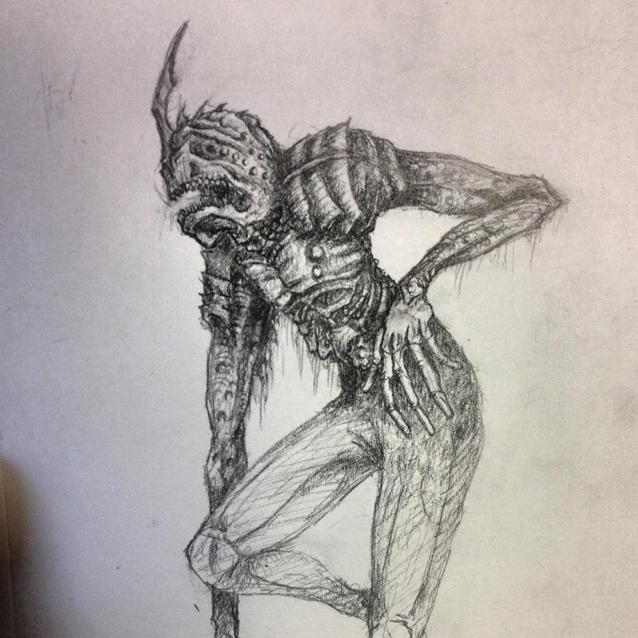 creature pose by shroomstone