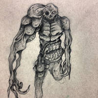 zombie type thing by shroomstone