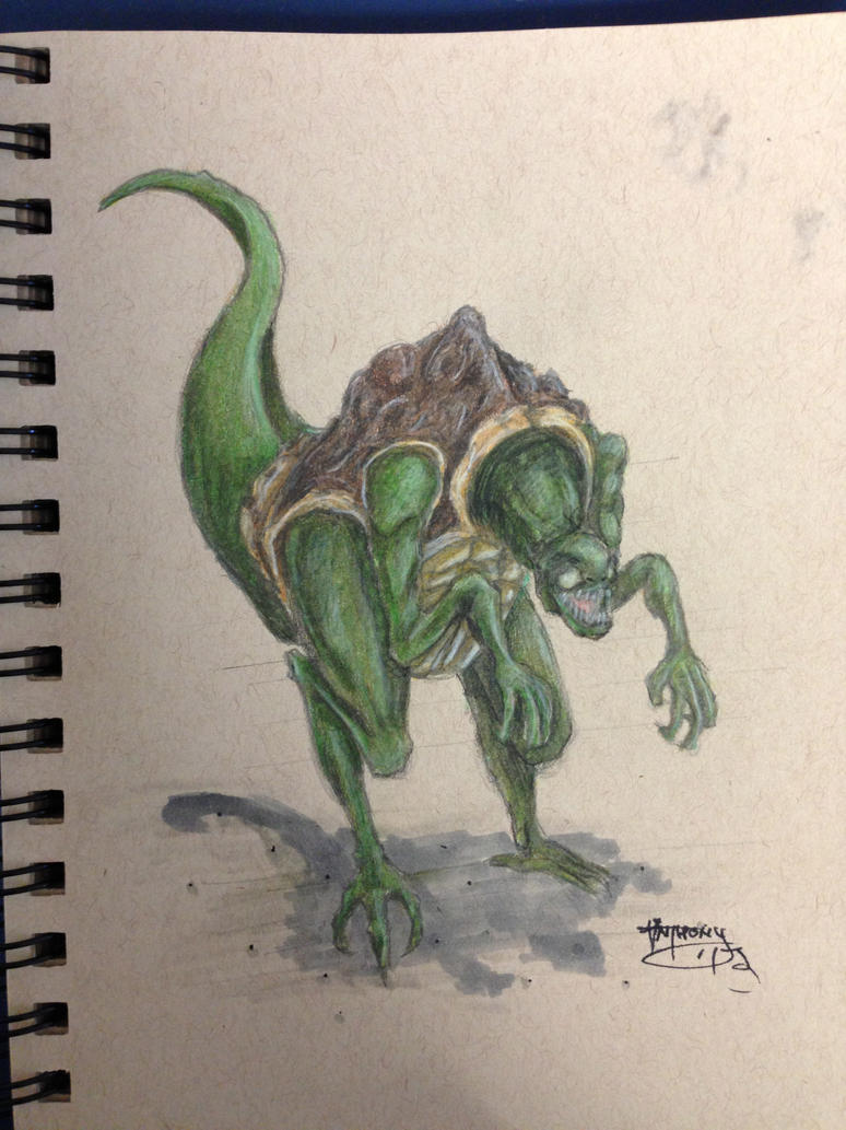 mutant turtle thing by shroomstone