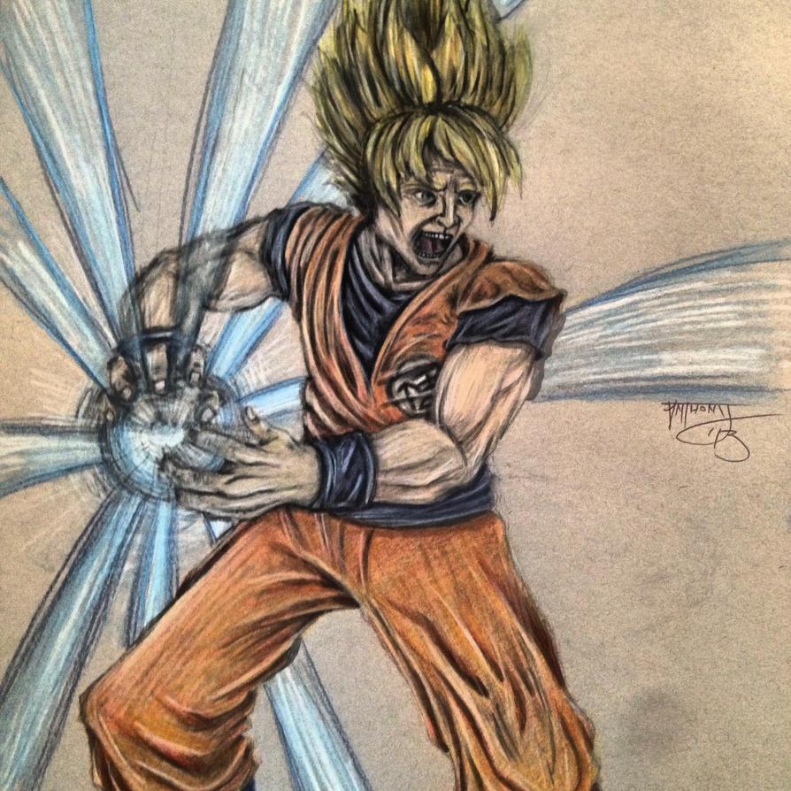 Goku by shroomstone