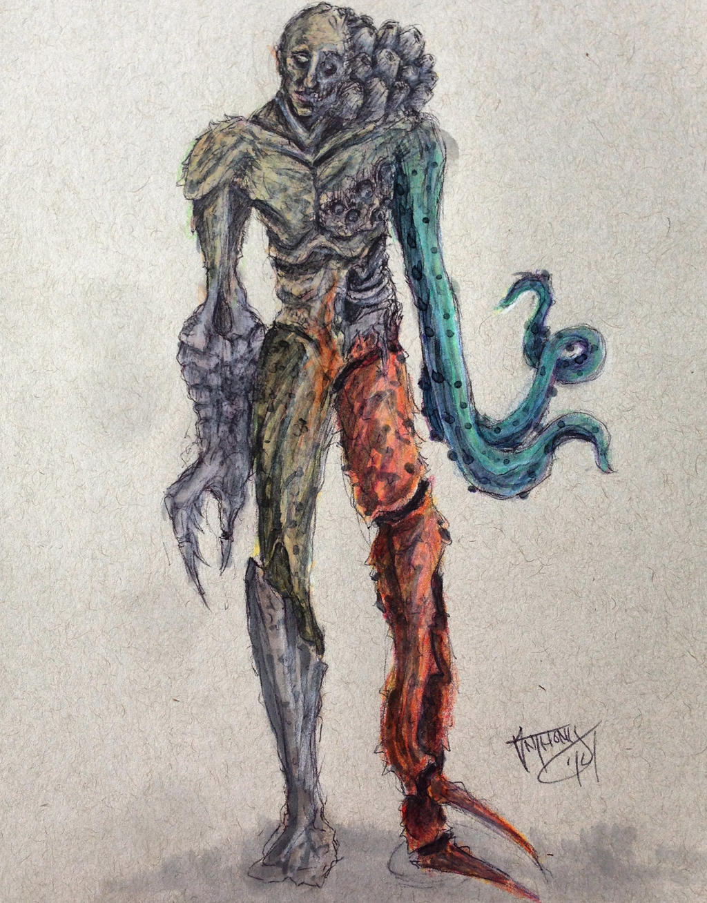 Sea Life Mutant by shroomstone