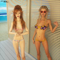 brennabolivia beach by punchhx22