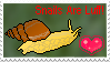 Stamp- Love Snails