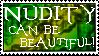Stamp- Nudity Is Ok