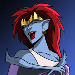 Demona Laughs by DTaina