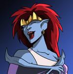 Demona Laughs