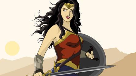 Wonder Woman Vectors by DTaina