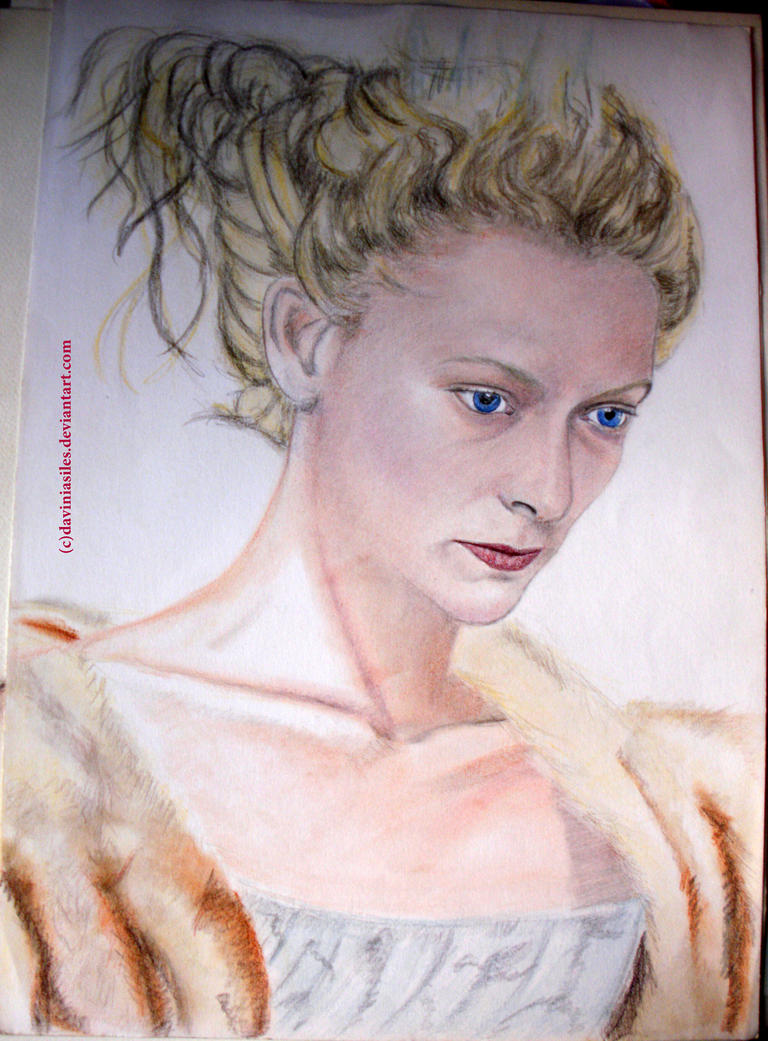 Tilda Swinton - The Queen of Narnia by daviniasiles