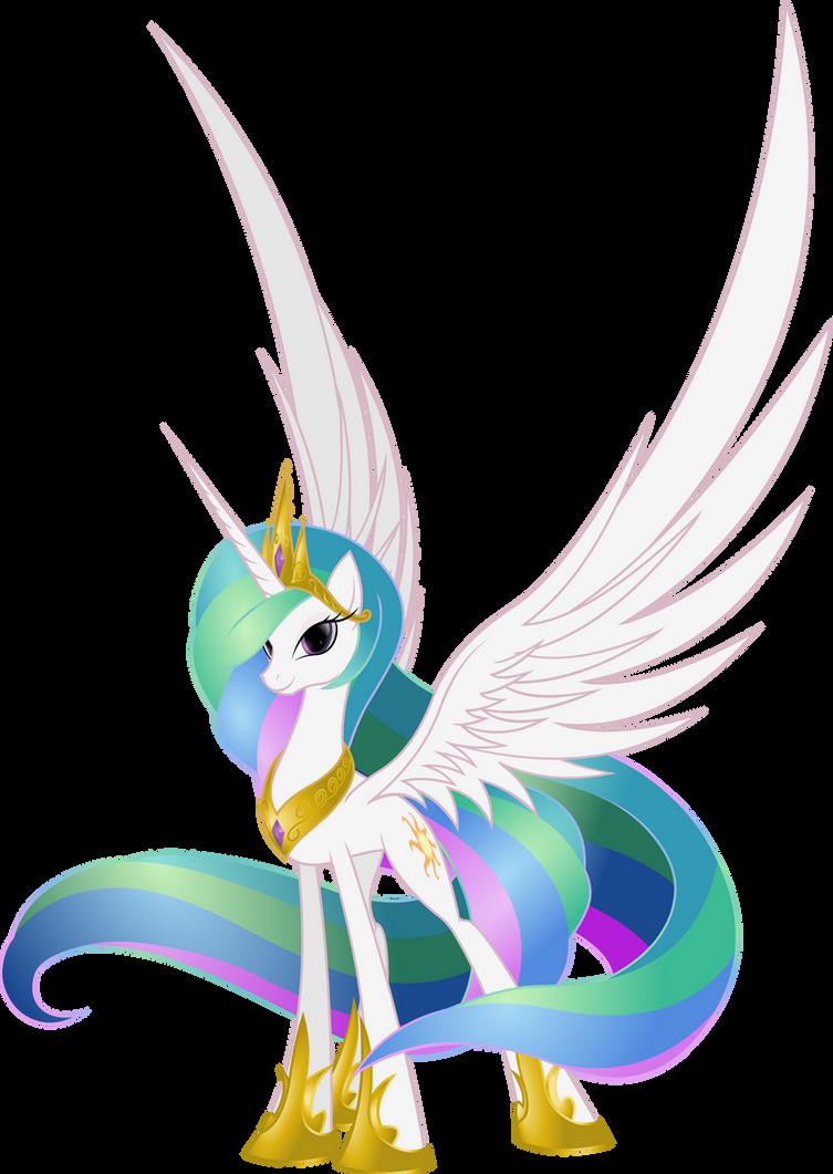 Princess Celestia by Nemesis360