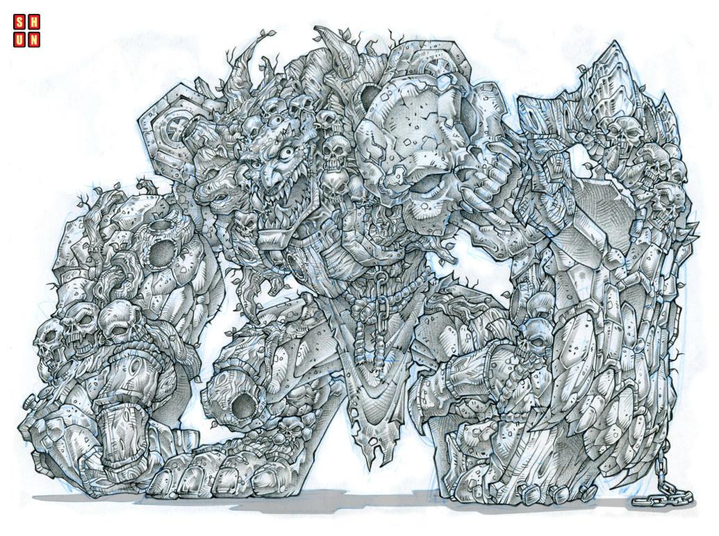 Goblin Death Liege by Shun-008