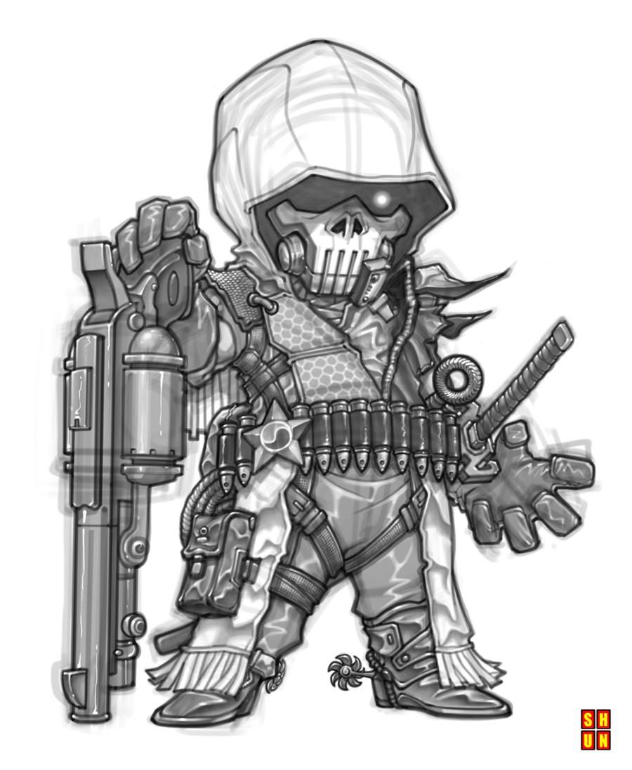 Ninja-Cowboy 001 by Shun-008 on DeviantArt