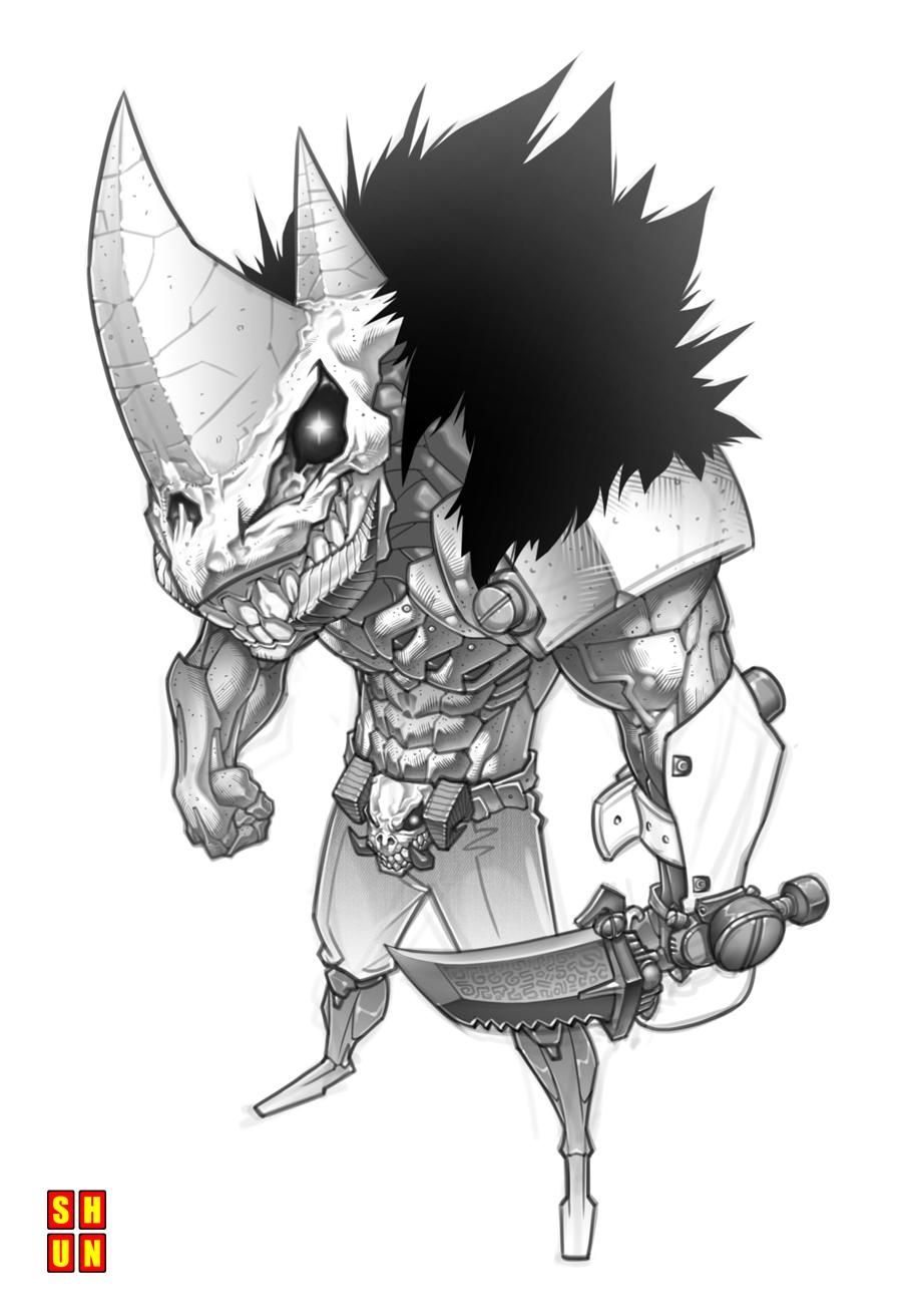 Villain Test 001 by Shun-008