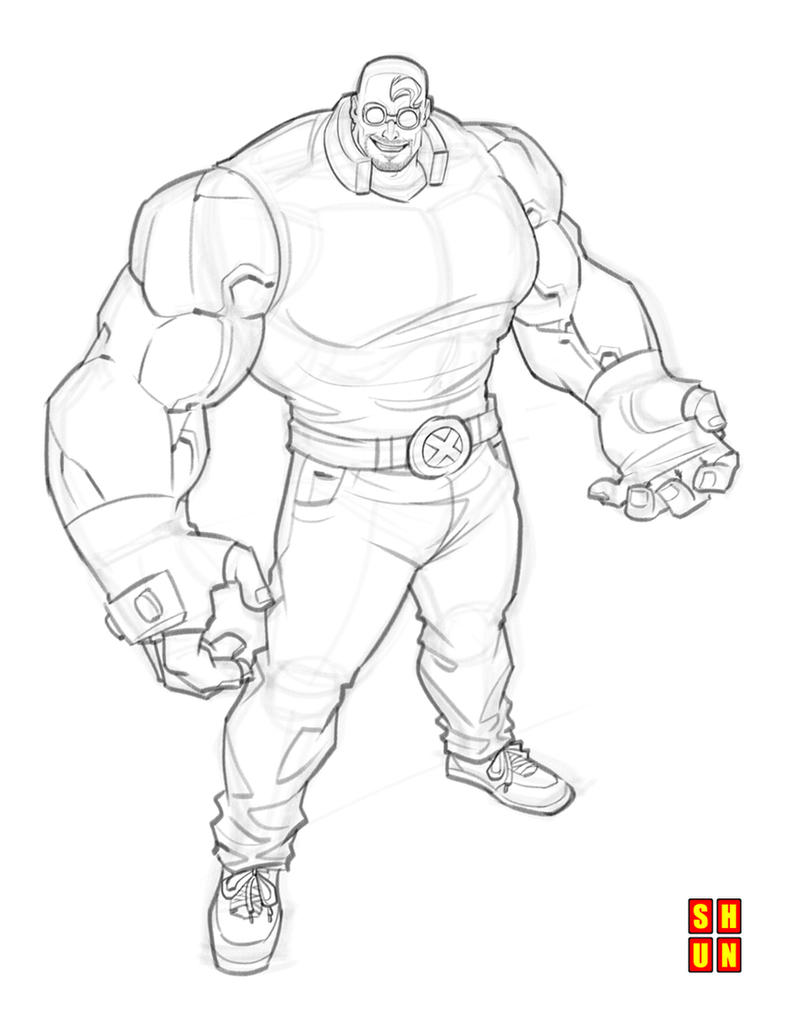 Character Design Quiz : Guido test wip by shun on deviantart