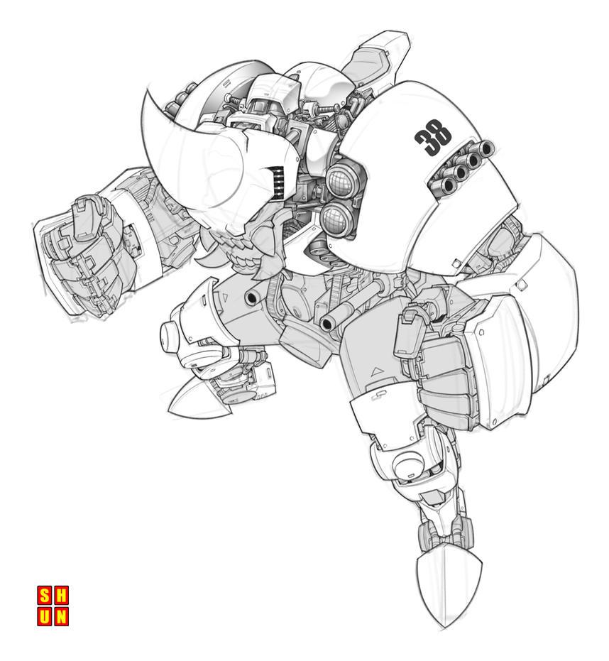 Rhino Wanzer (WIP) by Shun-008