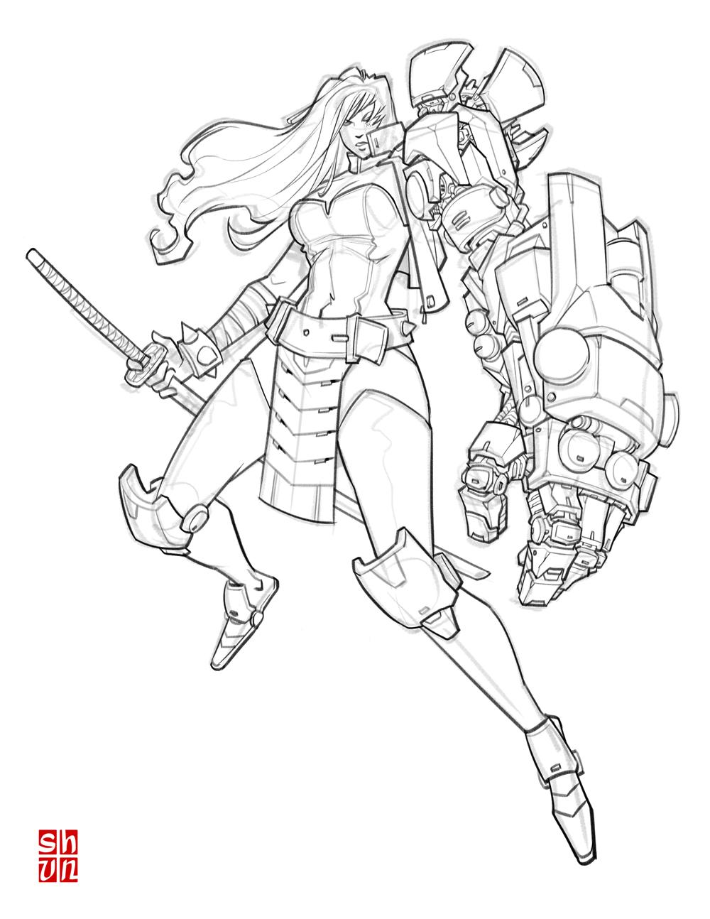 RiotShell Test 001 by Shun-008