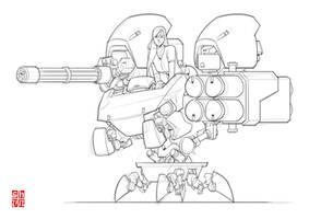 Concept Bot 2 by Shun-008