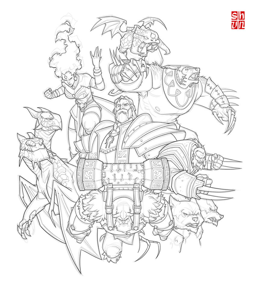 Dota 2 Fanart 3 by Shun-008