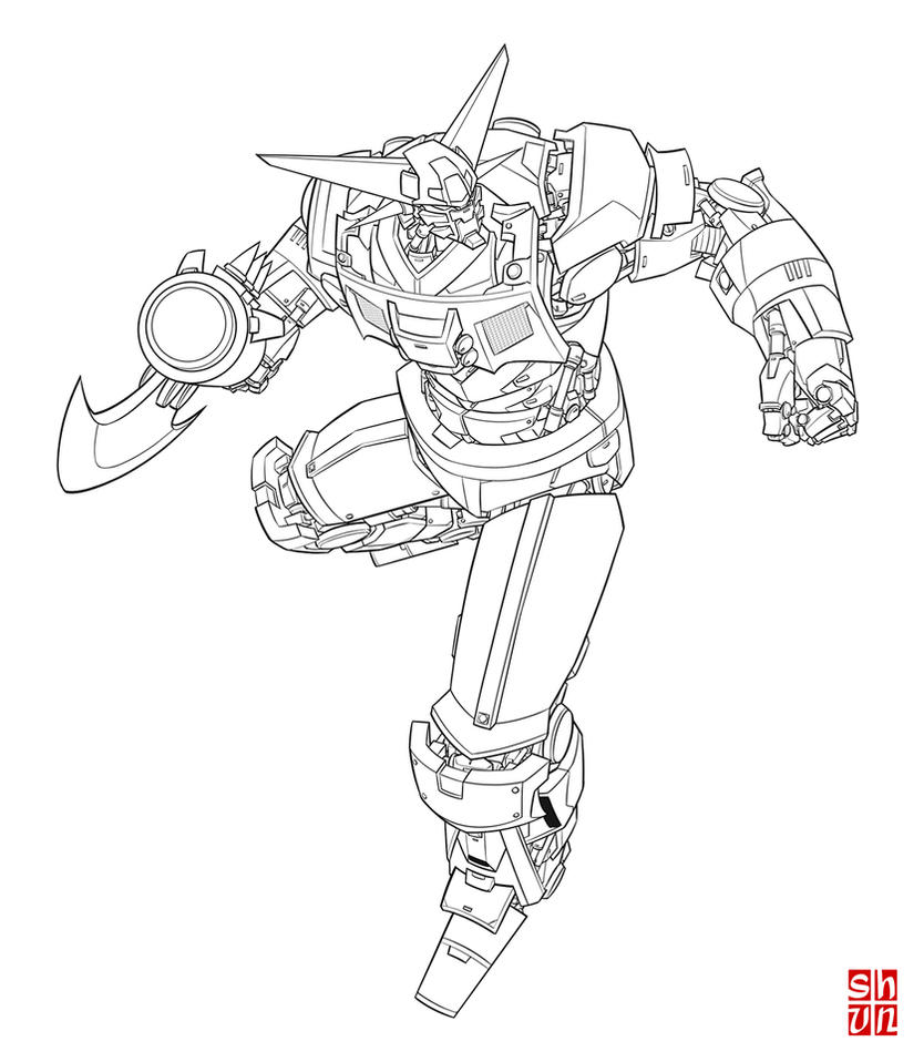 Getter 01 by Shun-008