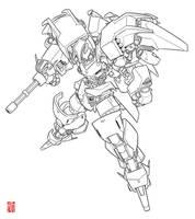 Random Mech/Gundam Design_01 by Shun-008