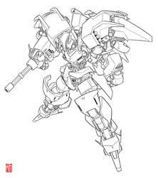 Random Mech/Gundam Design_01