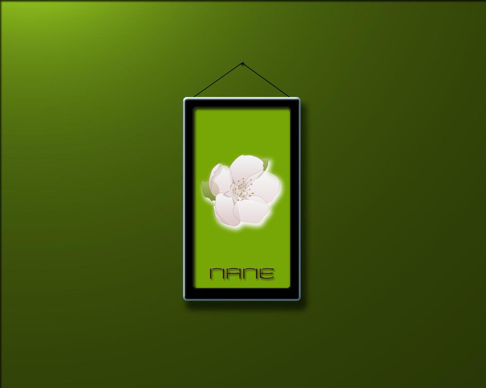 Flower Nane by iAmFreeman