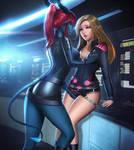 Shareel and Eilina by gateryart