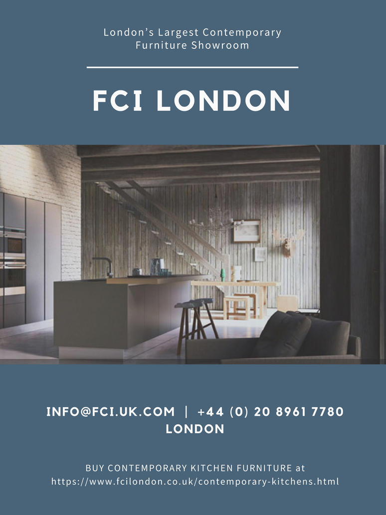 Modern Kitchen Designers   FCI London By Evinlewis ...