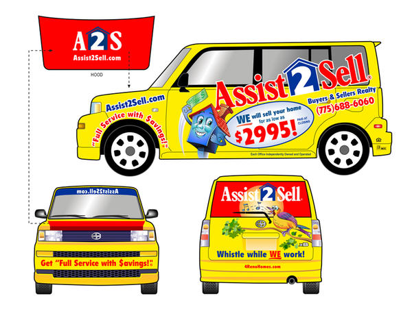 Assist To Sell >> Assist 2 Sell Auto Wrap By Ronoden On Deviantart