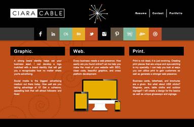 Ciara Cable - Website