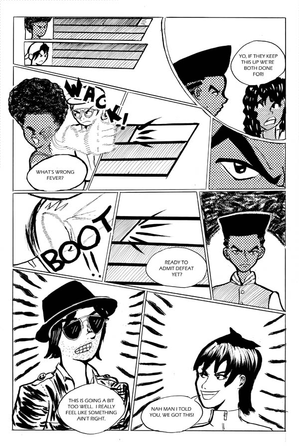 Double Blackness Volume 2 page 14 by nigz
