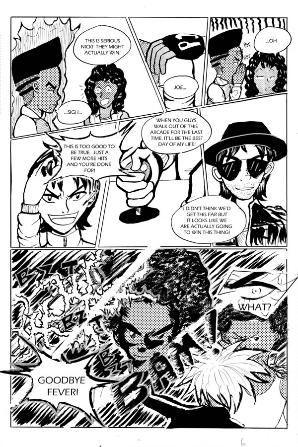Double Blackness Volume 2 page 15 by nigz