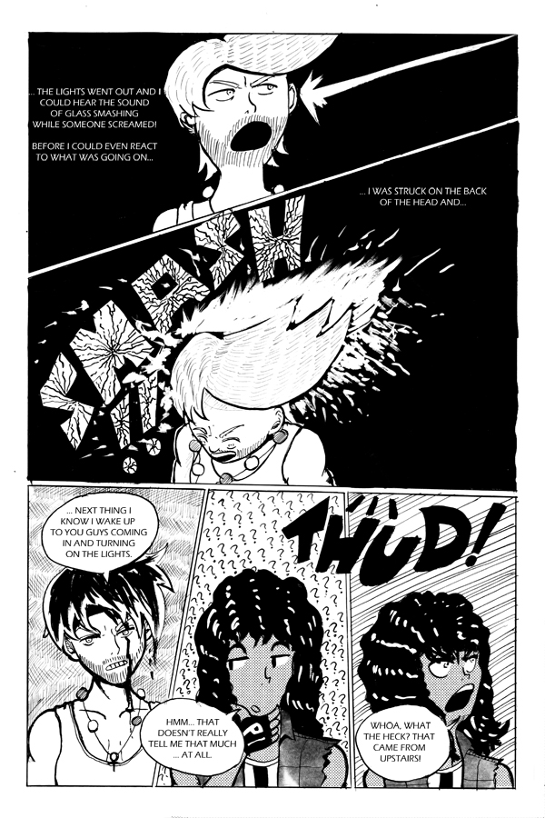 Double Blackness Volume 3 page 13 by Nigzblackman