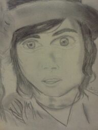 Kellin Quinn (01) drawing by thelovingmistress