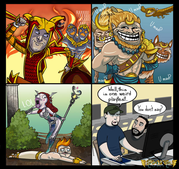 3 Smite Comic by BehindtheVeil on DeviantArt Aphrodite And Ares Anime