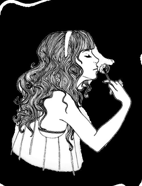 Thumper's sister ✻ Dans un grain de sable voir un monde, dans chaque fleur des champs le Paradis Doll_vintage_png_nice__flower_by_sheitta-d626gv8