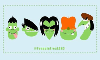 Gang Green Gang by PenguinFreakSH