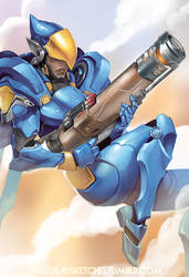 Overwatch - Justice Rains from Above!