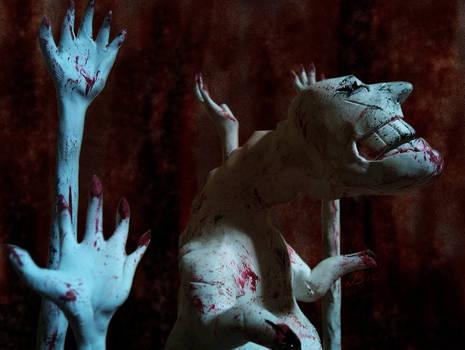 Dead Hand Sculpt