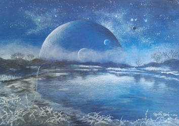 Fantasy winter by Carolineys