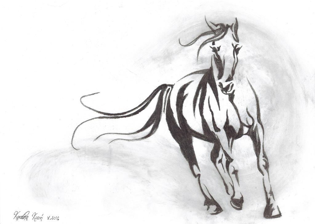 Horse by Carolineys
